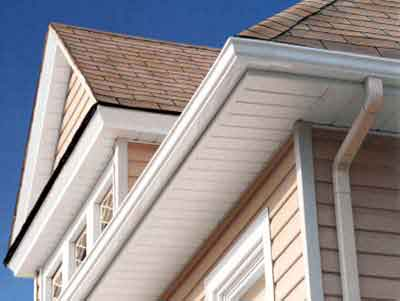 Soffit Page Image. © 2010 Discount Roofing Materials.